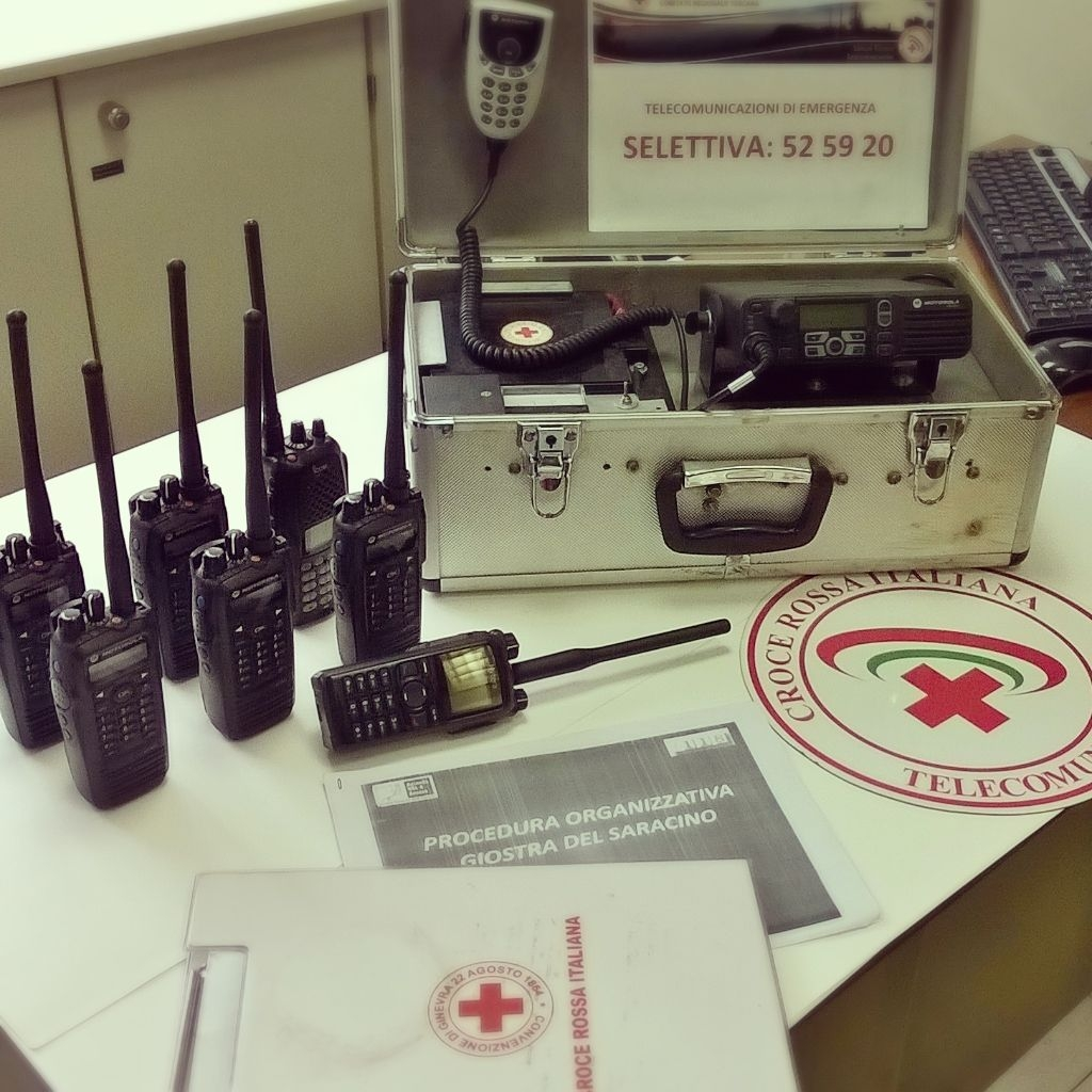 Servizi CRI Arezzo - Giostra SARACINO edizione giugno 2016