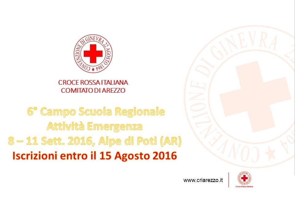 Campo Scuola Regionale CRI