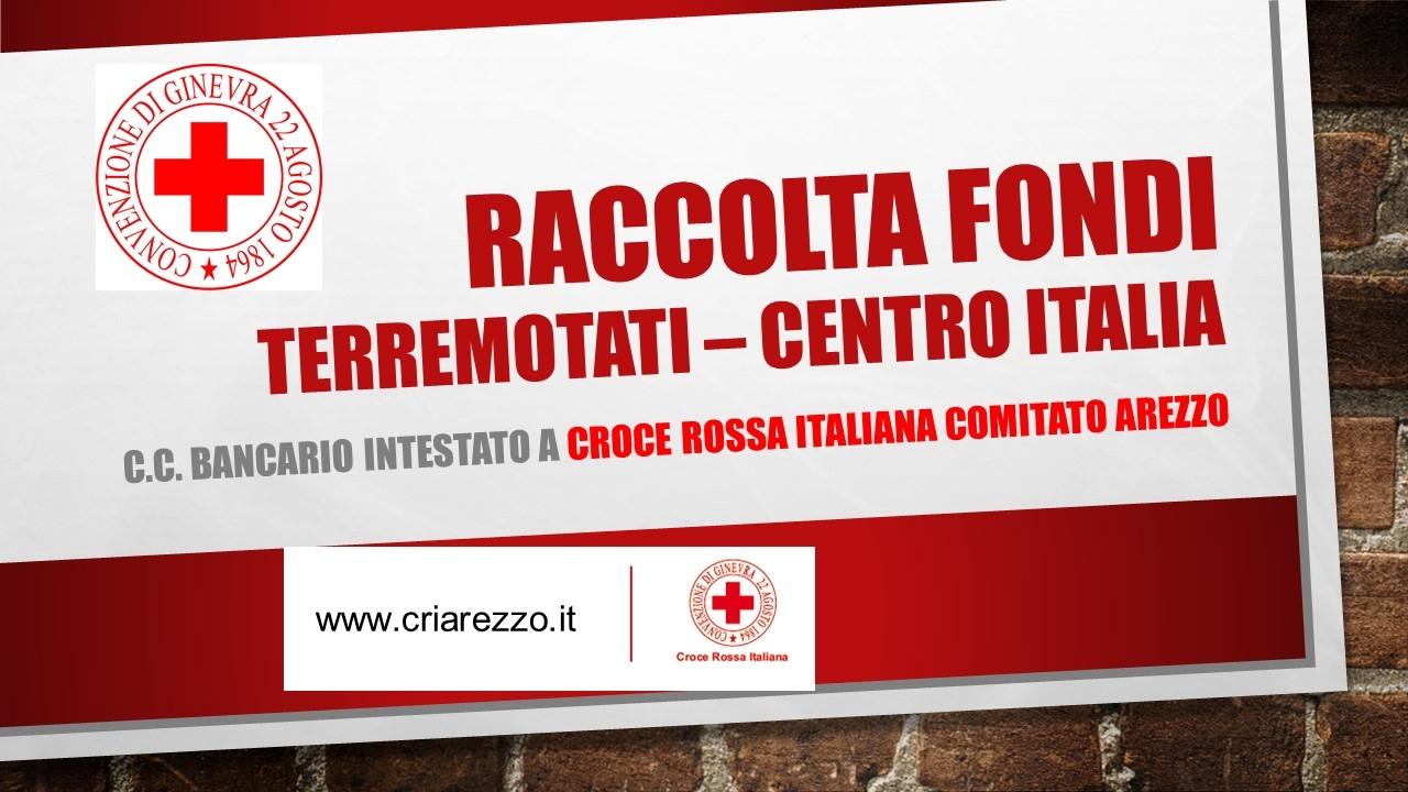 Raccolta Fondi Terremotati Centro Italia