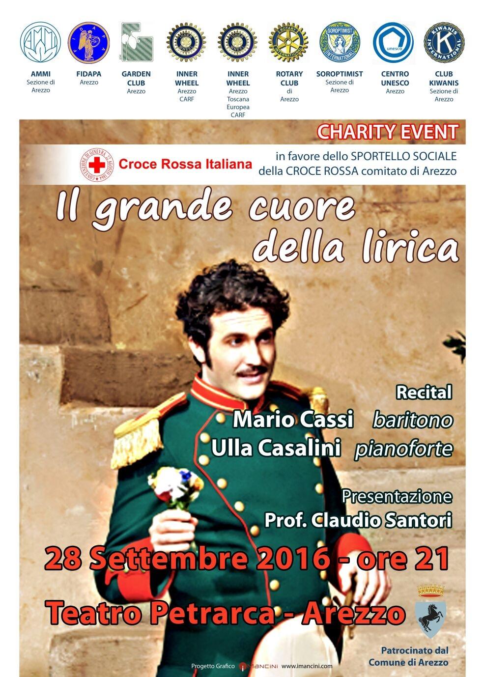 Raccolta fondi per Sportello Sociale CRI Arezzo