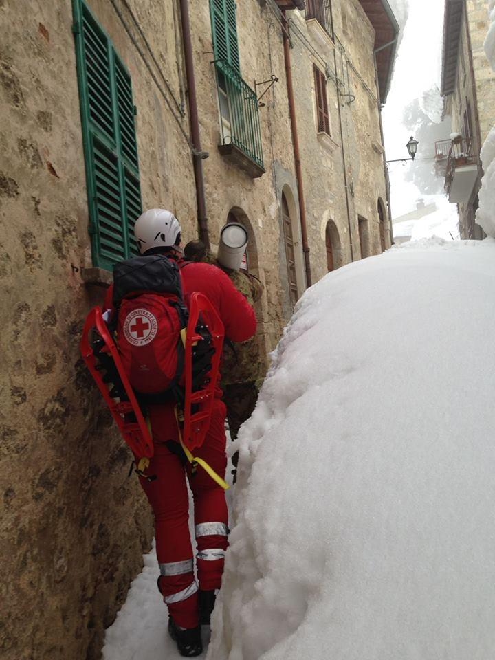 Il Comitato di Arezzo operativo nell'emergenza del Centro Italia