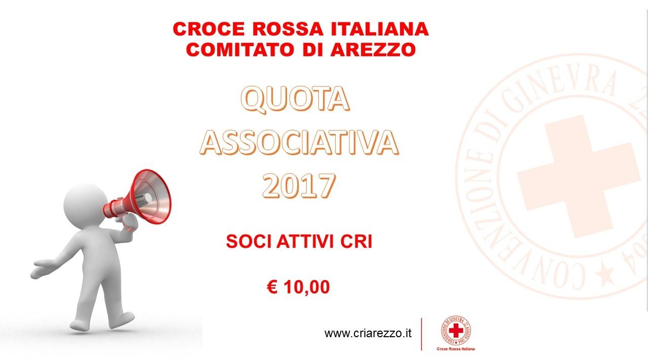 Quota Associativa 2017 - Scadenza 30 Aprile 2017