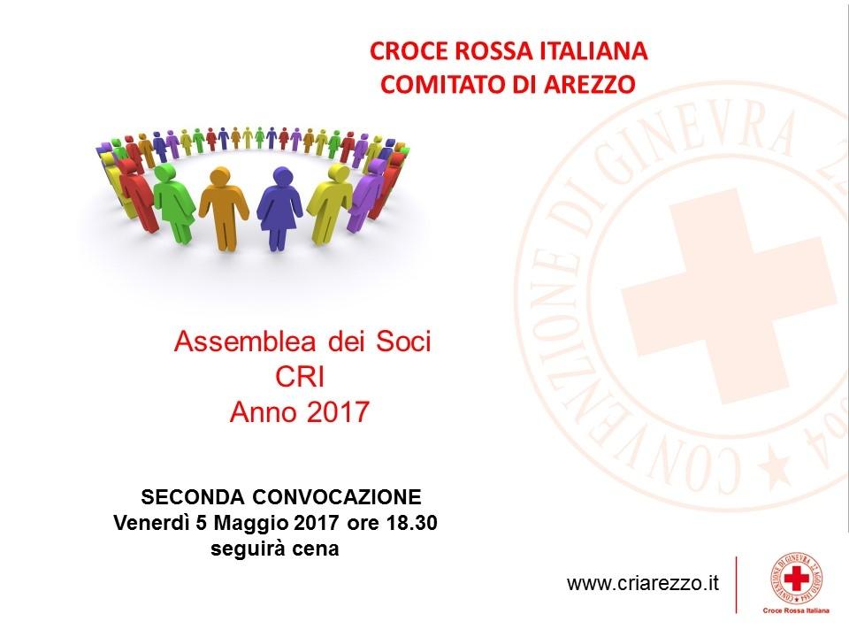 Assemblea Soci CRI Arezzo 2017