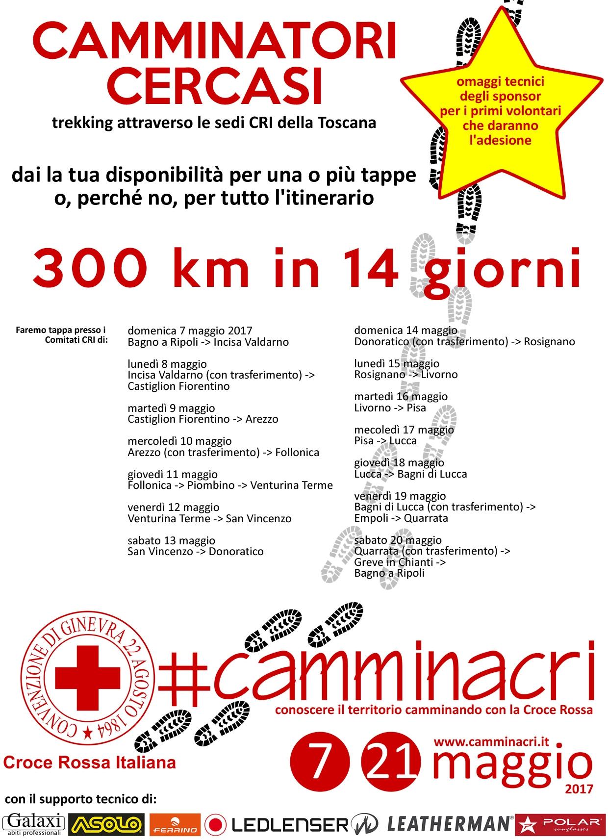 CAMMINACRI ad Arezzo