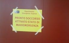 Il Comitato Cri di Arezzo è stato impegnato in una Maxiemergenza