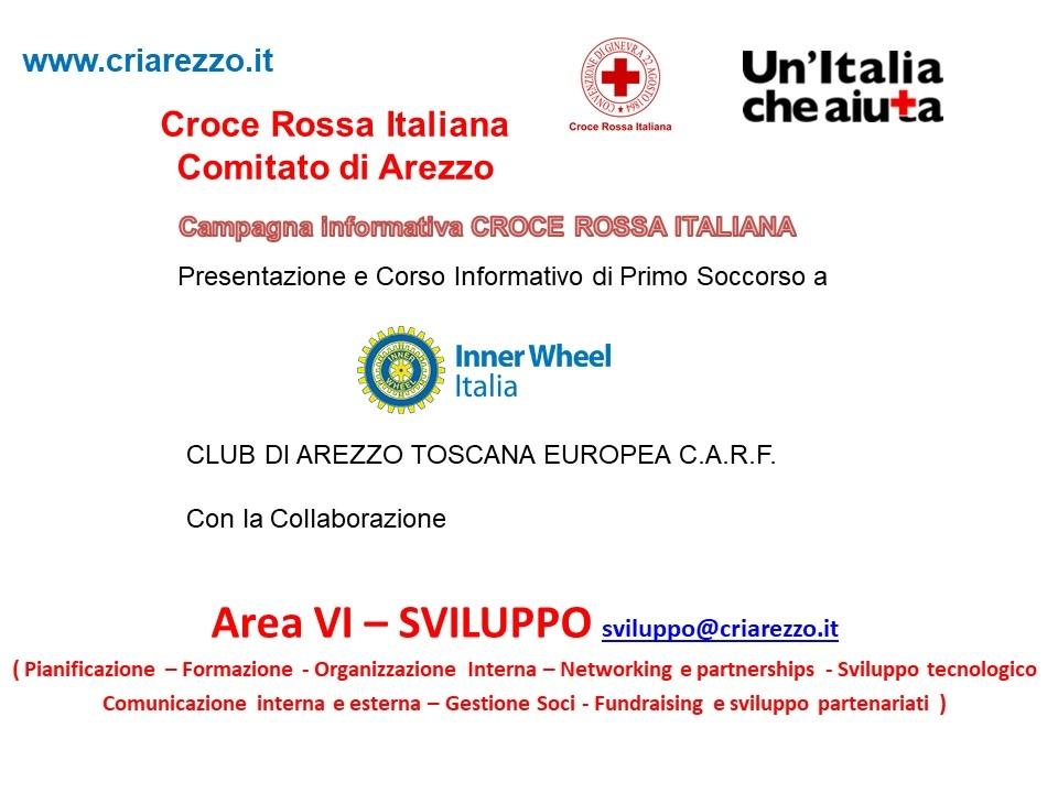 Inner Wheel  in CRI Arezzo