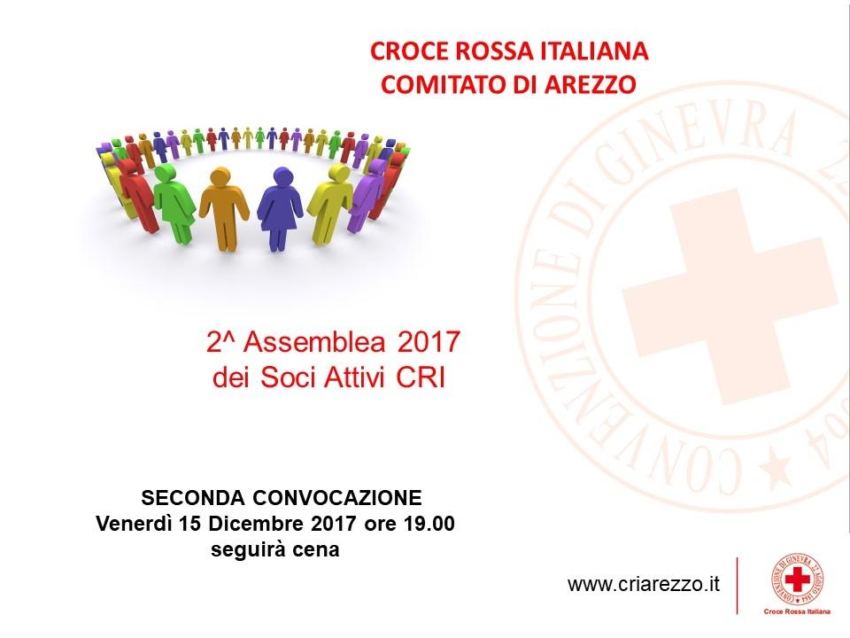 Assemblea Soci CRI Arezzo