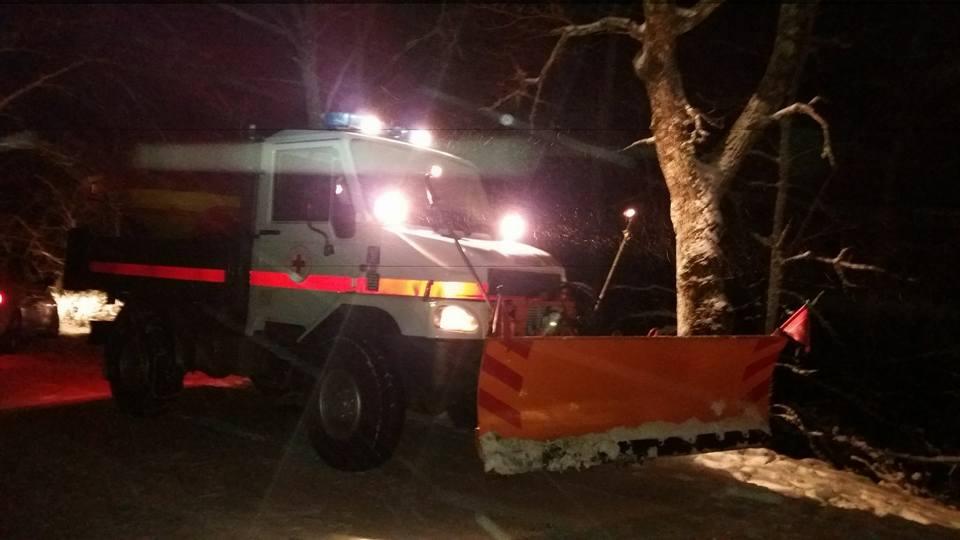 Allerta meteo con codice di criticità arancione per neve