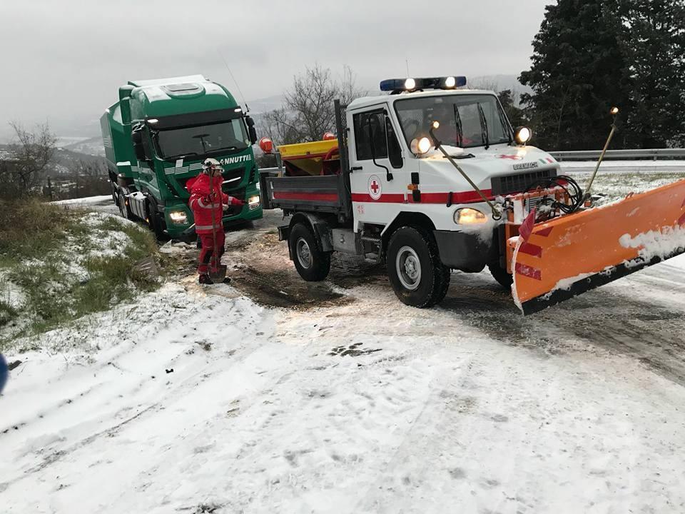 Emergenza Neve per il Comitato di Arezzo