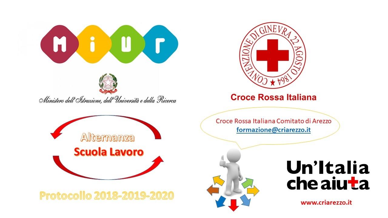 Alternanza Scuola Lavoro MIUR e CRI anni 2018-2020