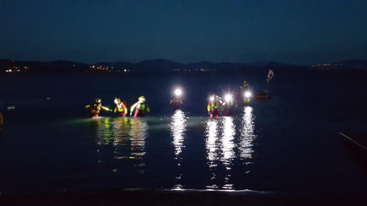 Tre giorni impegnativi per gli OPSA - Salvataggio in Acqua