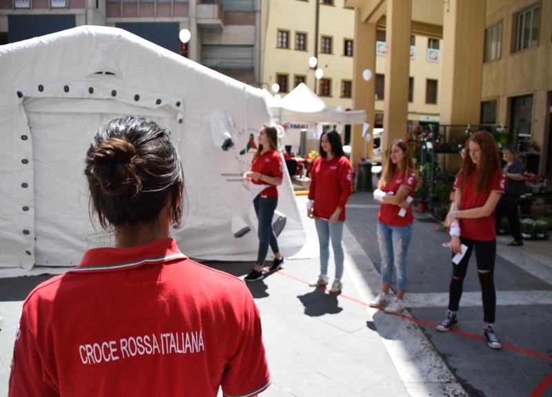 Croce Rossa e Lions in Piazza contro il Diabete