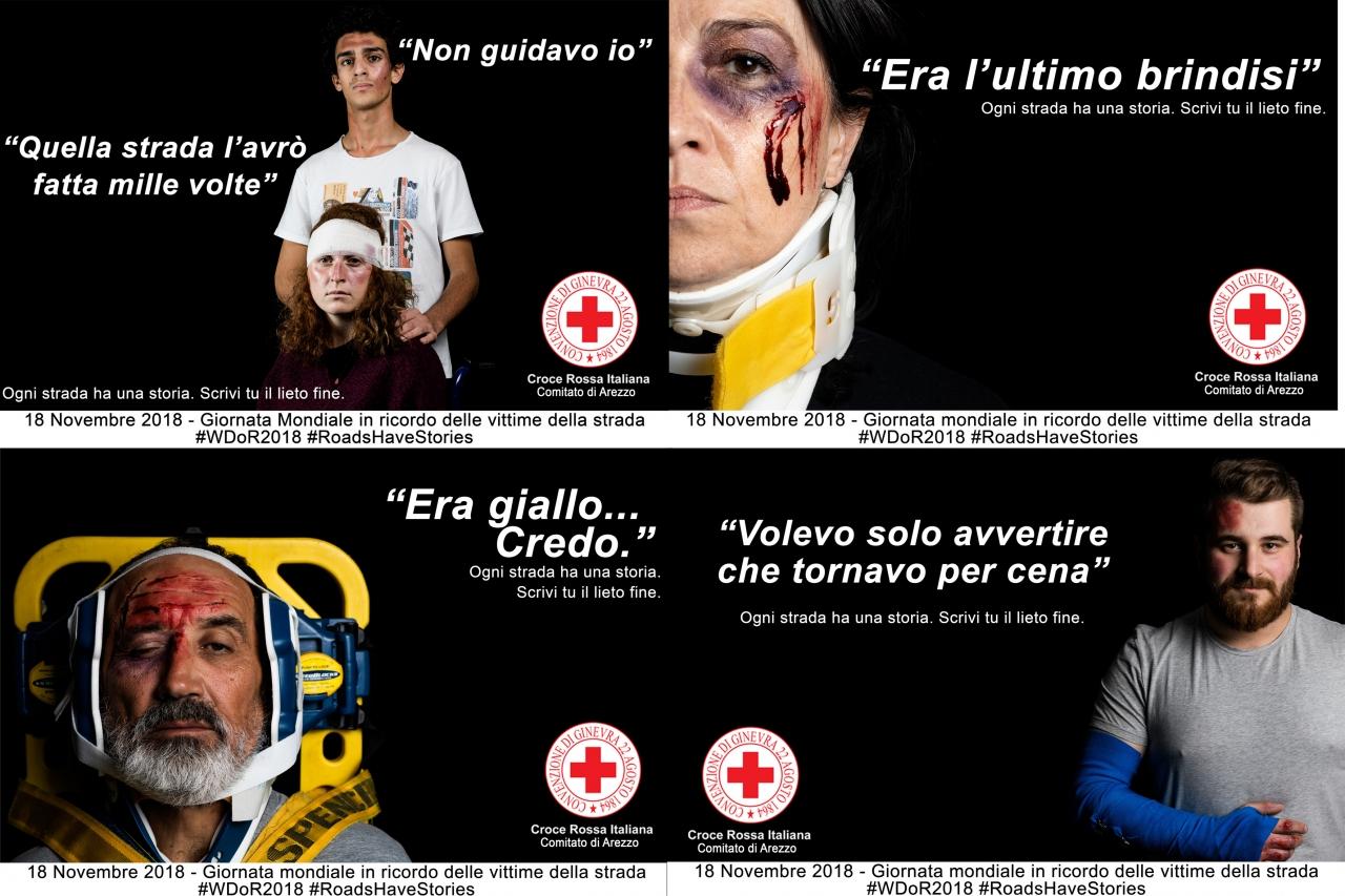 Campagna fotografica per la Giornata mondiale in ricordo delle vittime della strada