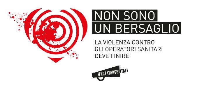 """Al via la campagna nazionale """"Non sono un bersaglio"""" contro la violenza verso gli operatori sanitari"""