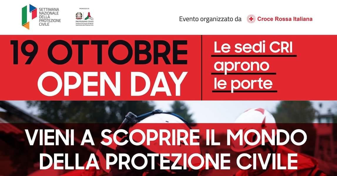 19 ottobre - Open Day per la Protezione Civile