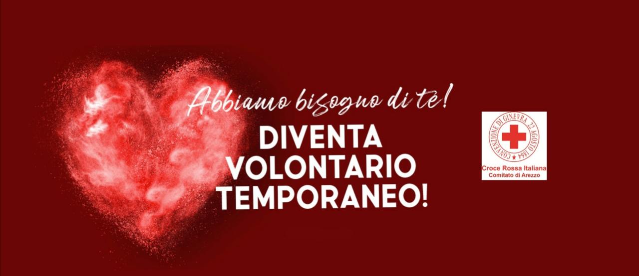 Covid-19, CRI Arezzo attiva il 'Volontariato Temporaneo' per spesa e farmaci a domicilio