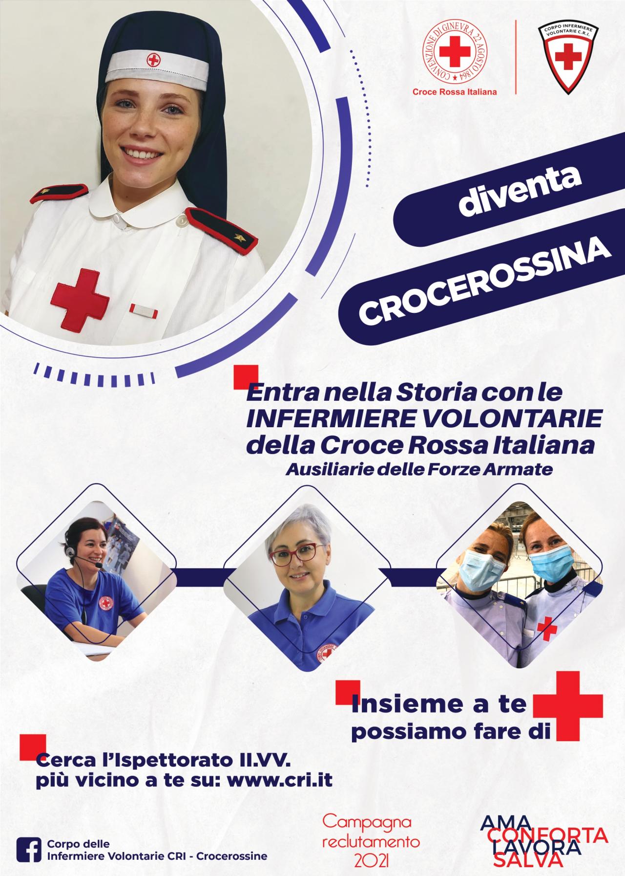 Locandina reclutamento IIVV 2021