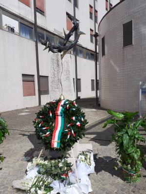 Omaggio alle vittime del Covid-19