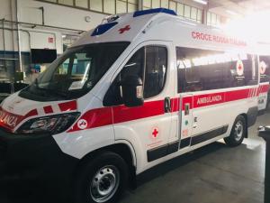 Una nuova ambulanza per la Croce Rossa di Arezzo a Pressione Negativa (2021)