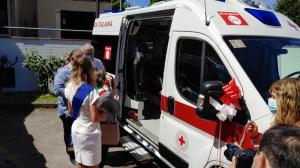 Inaugurazione nuova Ambulanza a Pressione Negativa